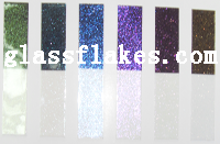 玻璃鳞片珠光颜料